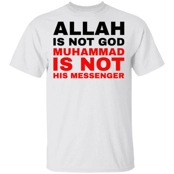 redirect 770 600x600 - Allah is not god shirt