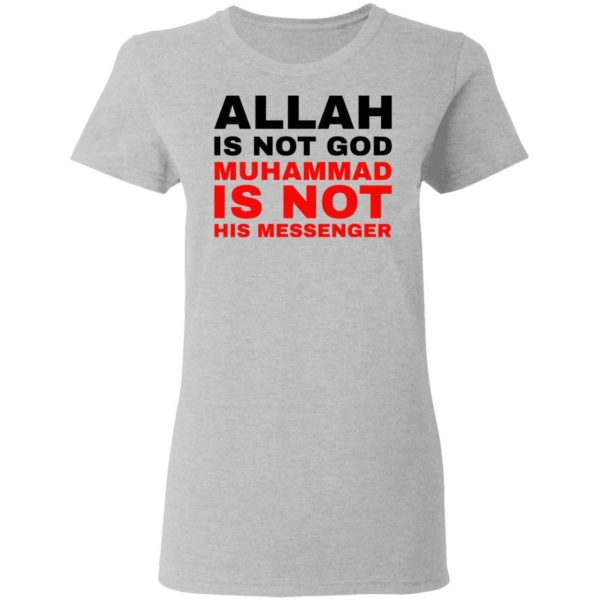 redirect 773 600x600 - Allah is not god shirt