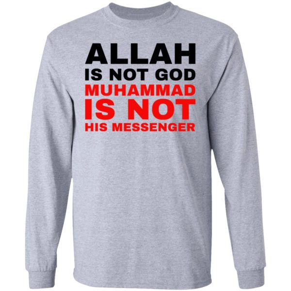 redirect 774 600x600 - Allah is not god shirt