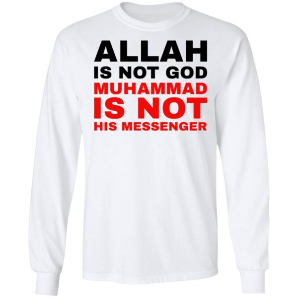 redirect 775 600x600 - Allah is not god shirt