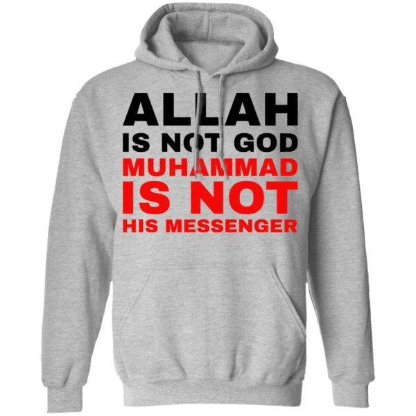 redirect 776 600x600 - Allah is not god shirt