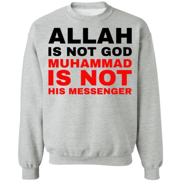 redirect 778 600x600 - Allah is not god shirt