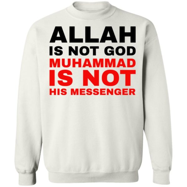 redirect 779 600x600 - Allah is not god shirt