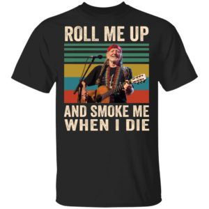 redirect 1150 300x300 - Willie Nelson roll me up and smoke me when i die vintage shirt