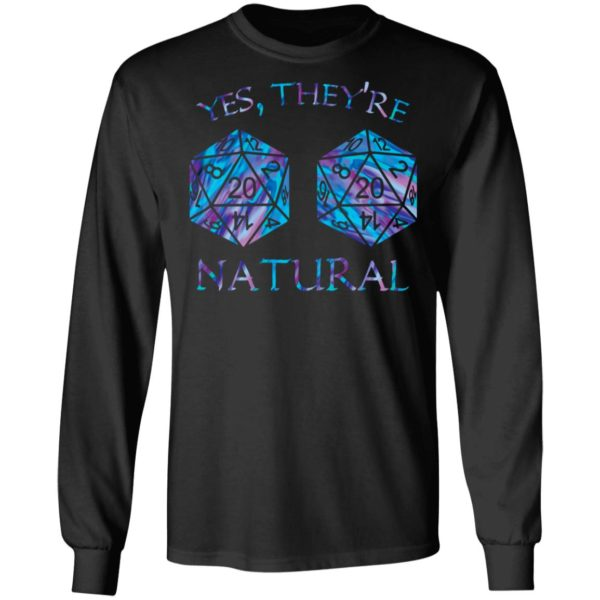 redirect 1584 600x600 - Yes they're natural shirt