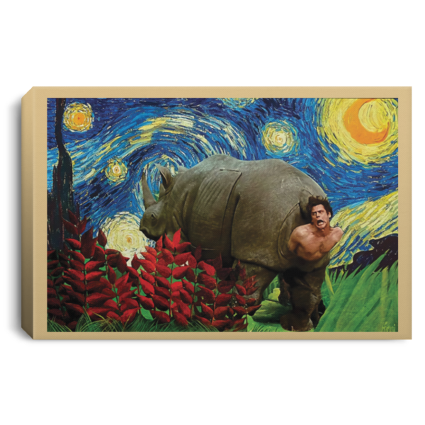 redirect 176 600x600 - Rhino Scene Ace Ventura Starry Night poster, canvas