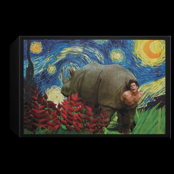 redirect 179 600x600 - Rhino Scene Ace Ventura Starry Night poster, canvas