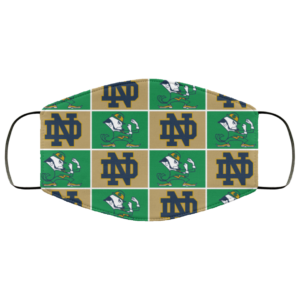 redirect 18 300x300 - Notre Dame Fighting face mask Washable, Reusable
