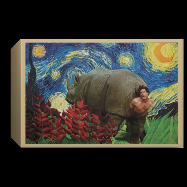 redirect 180 600x600 - Rhino Scene Ace Ventura Starry Night poster, canvas