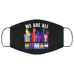 redirect 188 300x300 - We are all human LGBT face mask Reusable, Washable