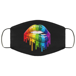 redirect 195 300x300 - LGBT flag lips face mask Reusable, Washable