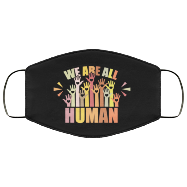 redirect 230 600x600 - We are all human LGBT face mask