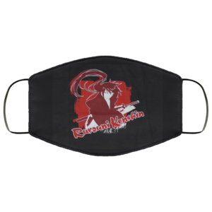 redirect 240 300x300 - Rurouni kenshin face mask reusable, washable