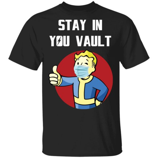 redirect 260 600x600 - Stay in your vault Fallout Boy shirt
