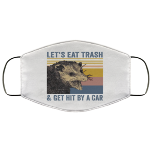 redirect 264 300x300 - Let's eat trash and get hit by a car face mask