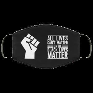 redirect 29 300x300 - All lives can't matter until black lives matter face mask