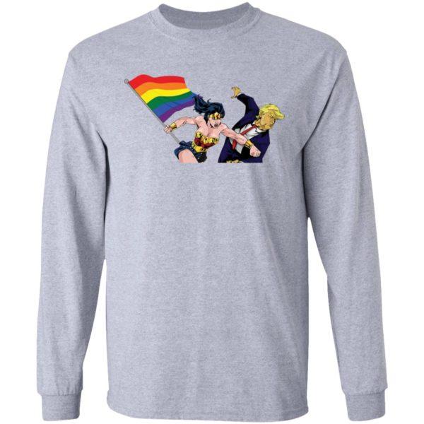 redirect 3004 600x600 - LGBT Wonder Woman Punching Trump shirt
