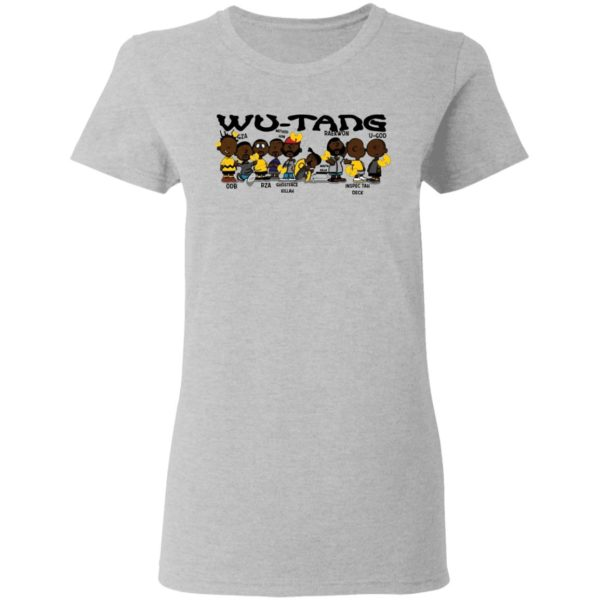 redirect 3023 600x600 - Black Charlie Brown Wu Tang shirt