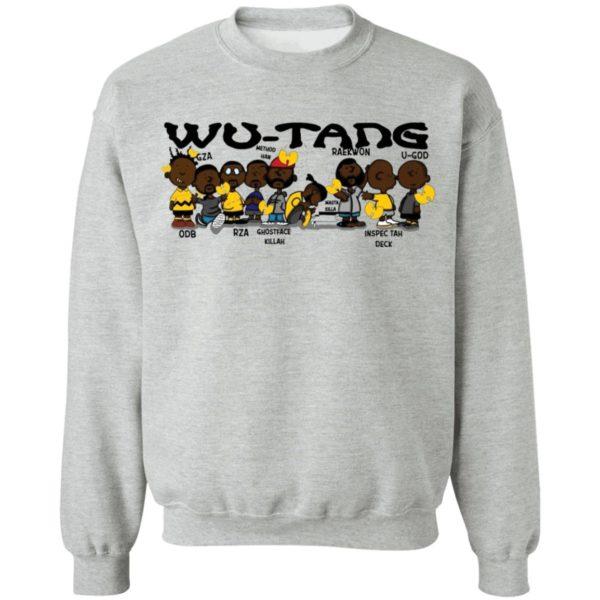 redirect 3028 600x600 - Black Charlie Brown Wu Tang shirt