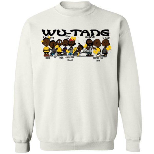 redirect 3029 600x600 - Black Charlie Brown Wu Tang shirt