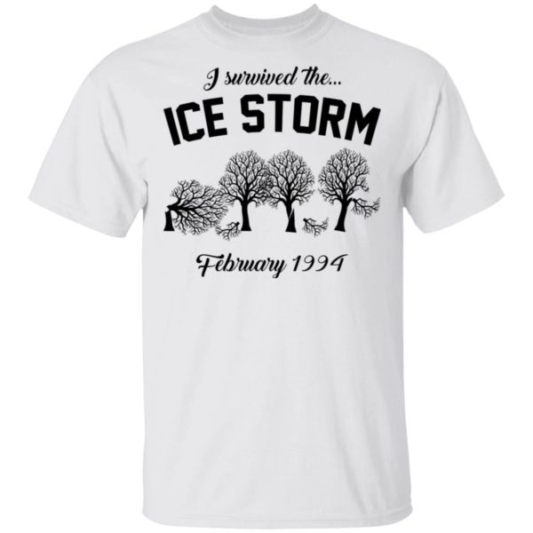 redirect 3030 600x600 - I survived the ice storm February 1994 shirt