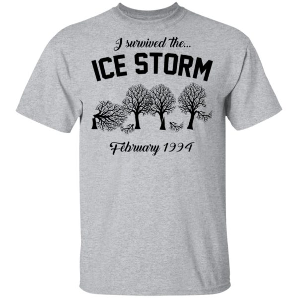 redirect 3031 600x600 - I survived the ice storm February 1994 shirt