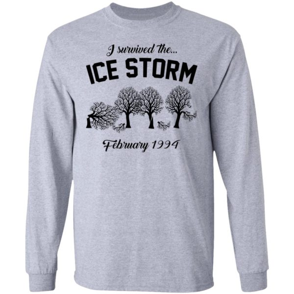 redirect 3034 600x600 - I survived the ice storm February 1994 shirt