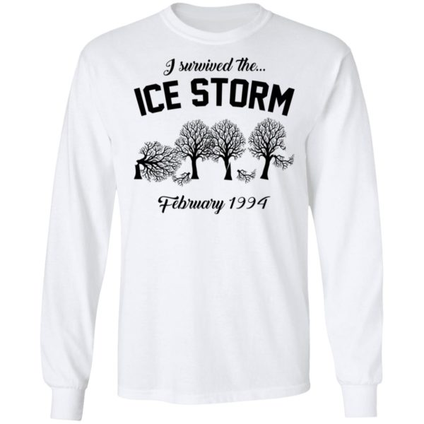redirect 3035 600x600 - I survived the ice storm February 1994 shirt