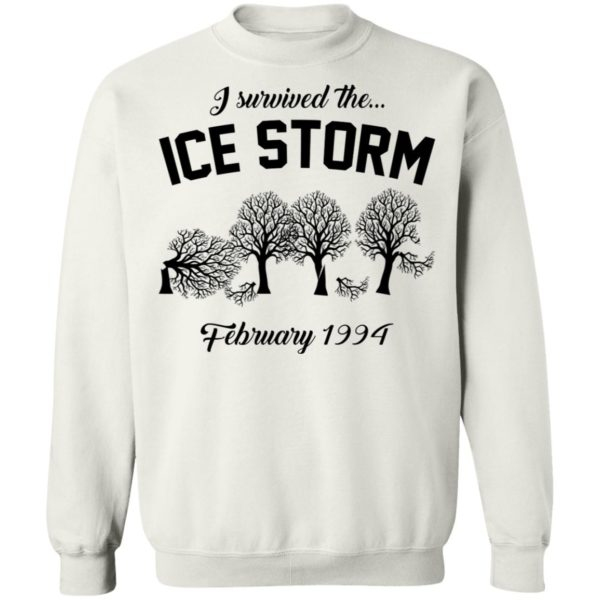 redirect 3039 600x600 - I survived the ice storm February 1994 shirt