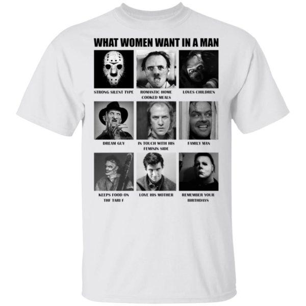 redirect 480 600x600 - What women want in the man killer chart Halloween shirt