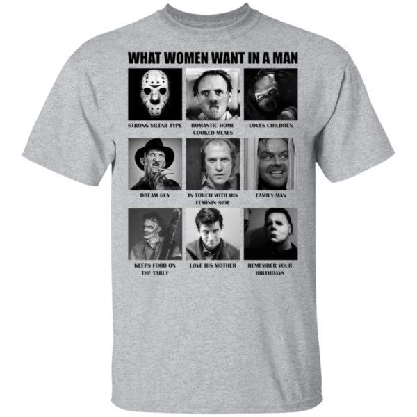 redirect 481 600x600 - What women want in the man killer chart Halloween shirt