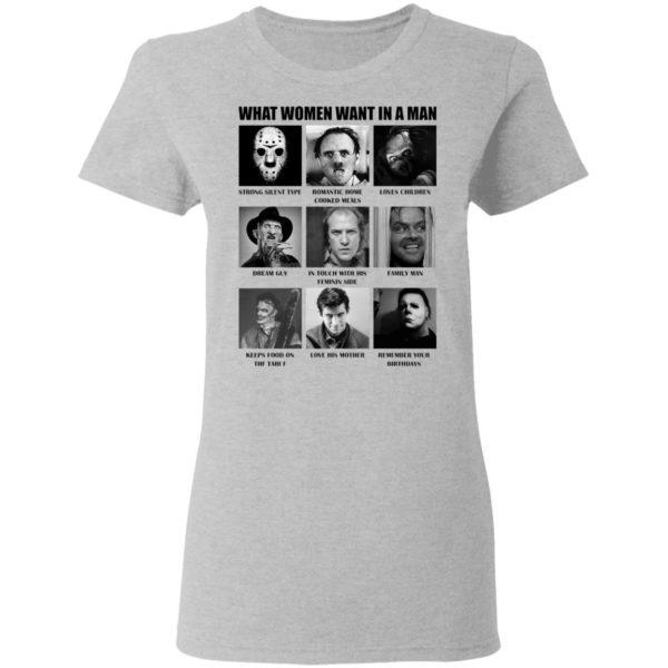 redirect 483 600x600 - What women want in the man killer chart Halloween shirt
