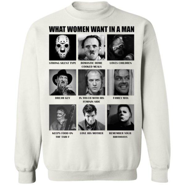 redirect 489 600x600 - What women want in the man killer chart Halloween shirt