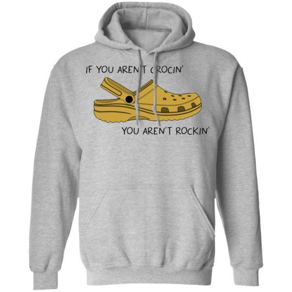 redirect 496 600x600 - Crocs If you ain't crocin you ain't rockin shirt