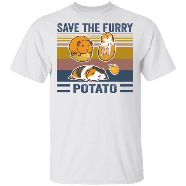 redirect 540 600x600 - Save the furry potato vintage shirt