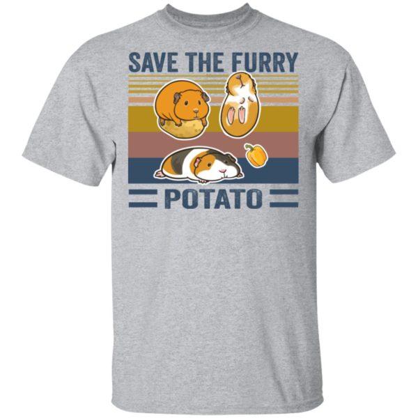 redirect 541 600x600 - Save the furry potato vintage shirt