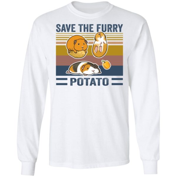 redirect 545 600x600 - Save the furry potato vintage shirt