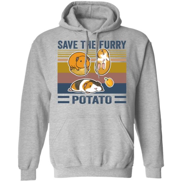 redirect 546 600x600 - Save the furry potato vintage shirt
