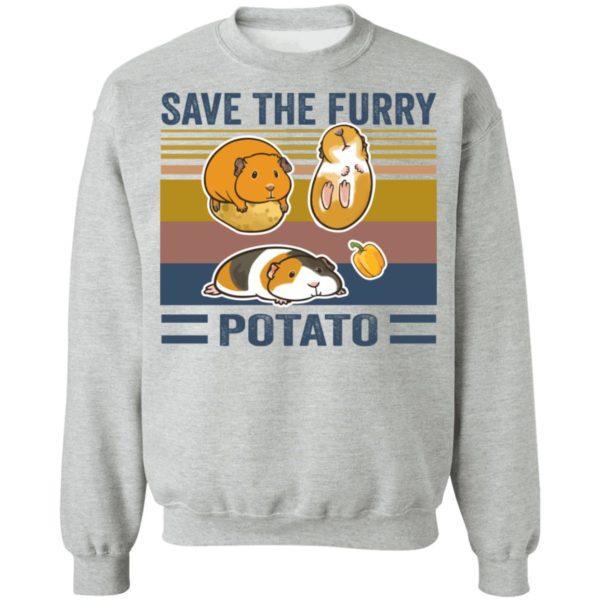 redirect 548 600x600 - Save the furry potato vintage shirt