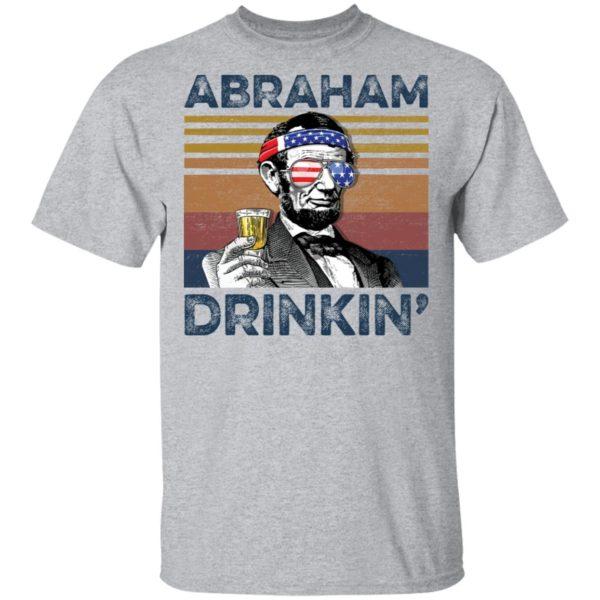 redirect 71 600x600 - Abraham Lincoln Abraham Drinkin shirt