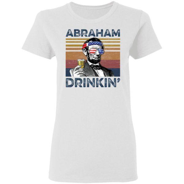 redirect 72 600x600 - Abraham Lincoln Abraham Drinkin shirt