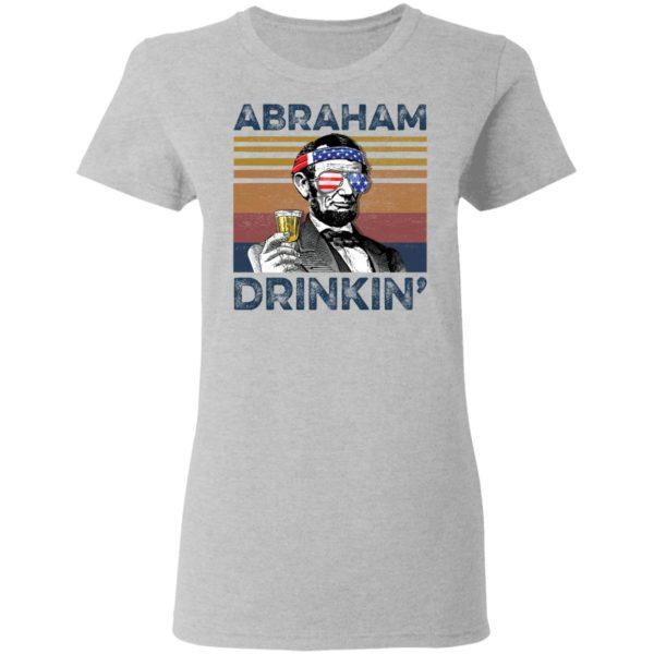 redirect 73 600x600 - Abraham Lincoln Abraham Drinkin shirt