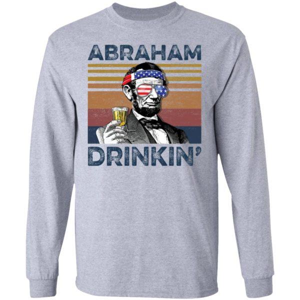 redirect 74 600x600 - Abraham Lincoln Abraham Drinkin shirt
