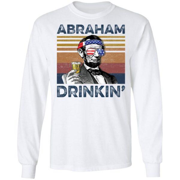 redirect 75 600x600 - Abraham Lincoln Abraham Drinkin shirt