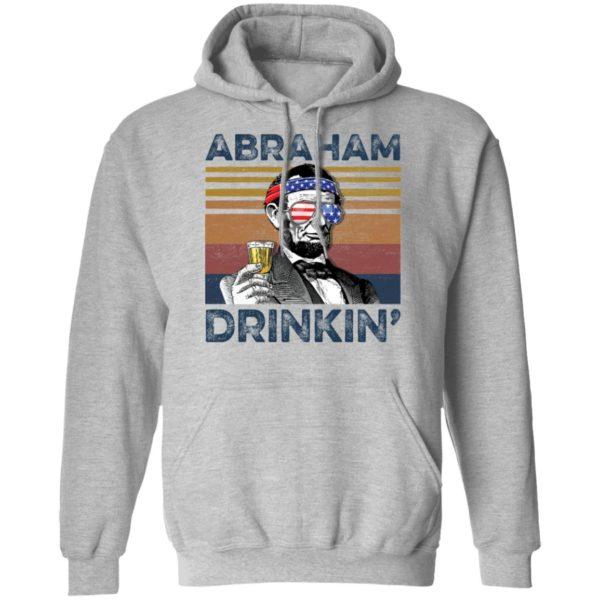 redirect 76 600x600 - Abraham Lincoln Abraham Drinkin shirt