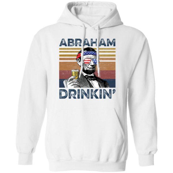 redirect 77 600x600 - Abraham Lincoln Abraham Drinkin shirt