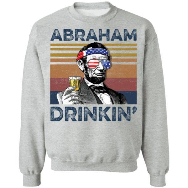 redirect 78 600x600 - Abraham Lincoln Abraham Drinkin shirt