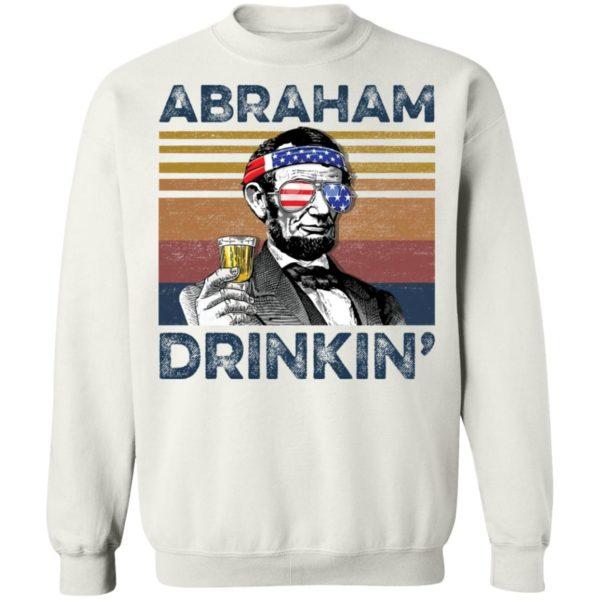 redirect 79 600x600 - Abraham Lincoln Abraham Drinkin shirt