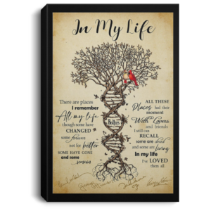 redirect 111 300x300 - In my life signature poster, canvas