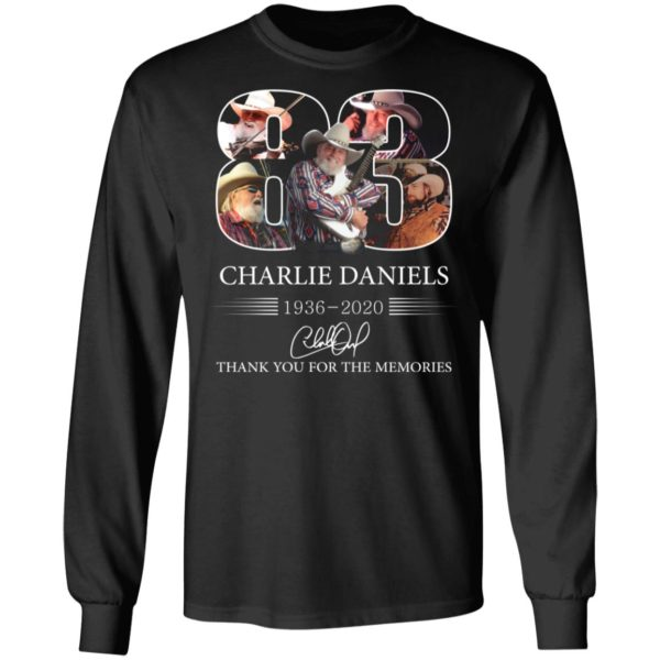 redirect 1110 600x600 - 83 Charlie Daniels 1936-2020 thank you for the memories shirt